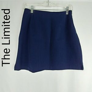 The Limited | Mini Navy Skirt